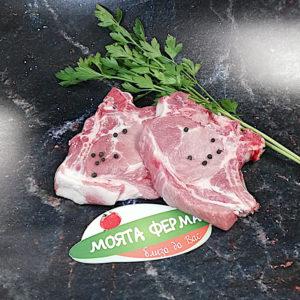 свинска сратна пържола с кост